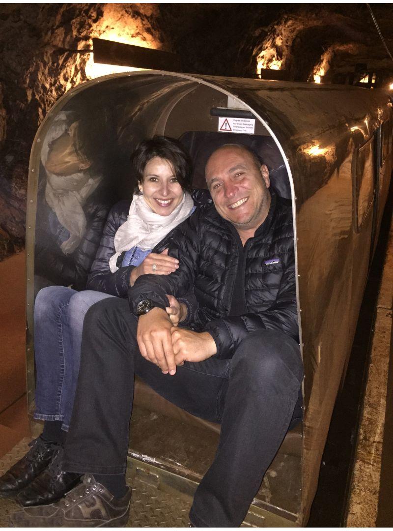 L'équipe Cybèle : Cristina et Alessandro