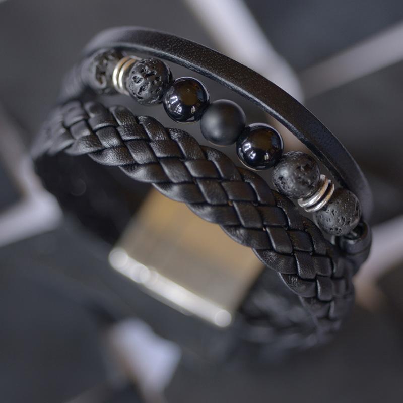 L'univers de Cybèle - Bracelet Onyx