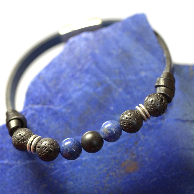 L'univers de Cybèle - Bracelet Lapis Lazuli